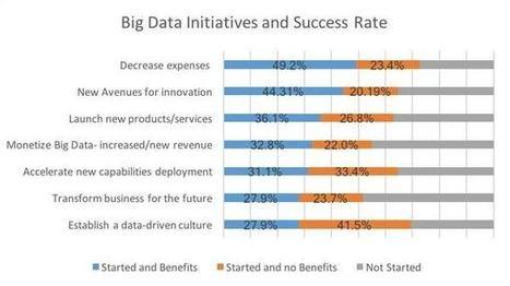 Big Data: quel est le taux de réussite des projets au sein du Fortune1000?   BaaS BackUp as a Service   Scoop.it
