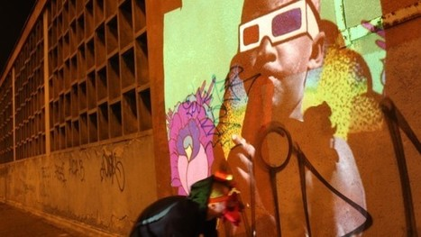 """VIDEO: Artists Use Video Painting to Launch """"The Bridge"""" 