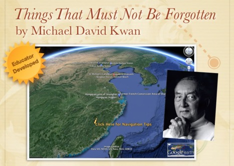 Things That Must Not Be Forgotten by Michael David Kwan | Google Lit Trips: Reading About Reading | Scoop.it