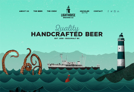 30 Web Designs That Have Beautiful Illustrations | Web inspiration | Scoop.it