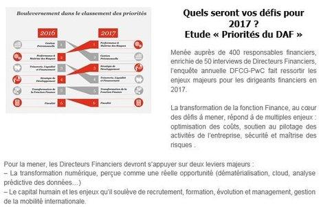 Priorités 2017 du Directeur Financier | DOCAPOST DAF | Scoop.it