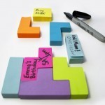 Tetris Sticky Notes: Post-it Puzzlers | All Geeks | Scoop.it