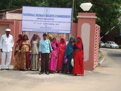 Asbestos workers attending the Public Hearing organised by the National Human Rights Commission (NHRC) | Asbestos and Mesothelioma World News | Scoop.it