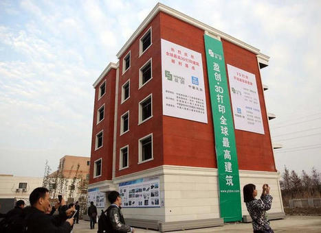 World's first 3D-printed apartment building constructed in China - CNET | SMART INNOVATIONS | Scoop.it