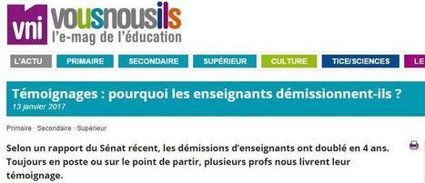 La ronde des démissions : ils témoignent | CDI pédagogie | Scoop.it