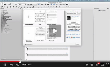 MuseScore | Free music composition and notation software | #Mac #Linux #Windows #Freeware #Audio  | Best Freeware Software | Scoop.it