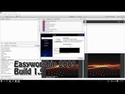 crack easy worship 2009 build 1.9