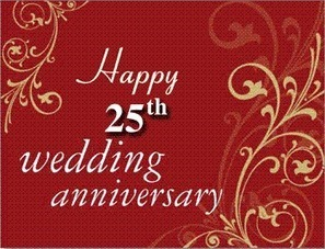 Silver Jubilee Wedding Anniversary Quotes Ent