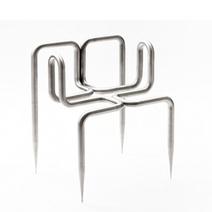 Didier Faustino's 'Love Me Tender Chair In Brushed Steel From Super-ette. - #50100 - NOTCOT.ORG | Arte y Fotografía | Scoop.it