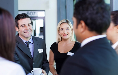8 Killer Opening Lines To Use At Your Next Networking Event | RMStaples Topics | Scoop.it