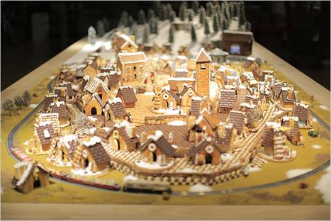 MUJI crée un village en pain d'épices avec lequel vous pouvez interagir en temps réel  |  Wonderful Brands | Le monde demain | Scoop.it