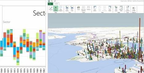 Power BI : Microsoft met de la puissante Business Intelligence à l'intérieur de votre Excel | Outils et pratiques du web | Scoop.it