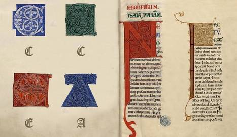 La Bibliothèque virtuelle de Clairvaux est lancée : 1150 manuscrits médiévaux accessibles en ligne | Merveilles - Marvels | Scoop.it
