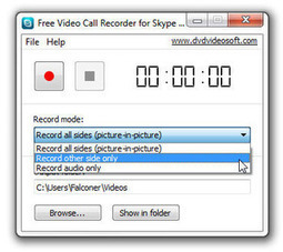 Free Video Call Recorder for Skype records unlimited video and audio for free   Geeks   Scoop.it