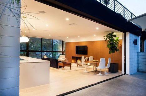 Magnifique maison familiale semi-enterrée à San Diego | Construire Tendance | Dans l'actu | Doc' ESTP | Scoop.it