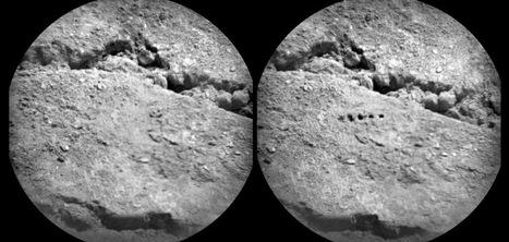 Curiosity Rover Bores Holes in Mars Soil with Laser Beam: Scientific American Gallery   CEREGeo - Geomática   Scoop.it