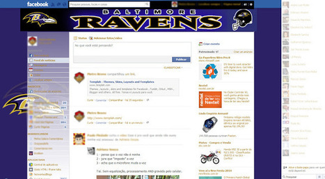 Theme for Facebook - NFL - Baltimore Ravens | Themes for Facebook | Scoop.it
