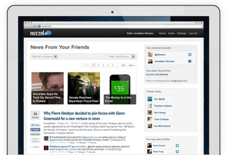Nuzzel - News From Your Friends | Building a Web Presence | Scoop.it