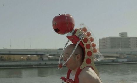 Meet Tomatan, a wearable robot that feeds you tomatoes as you run | Design to Humanise | Scoop.it