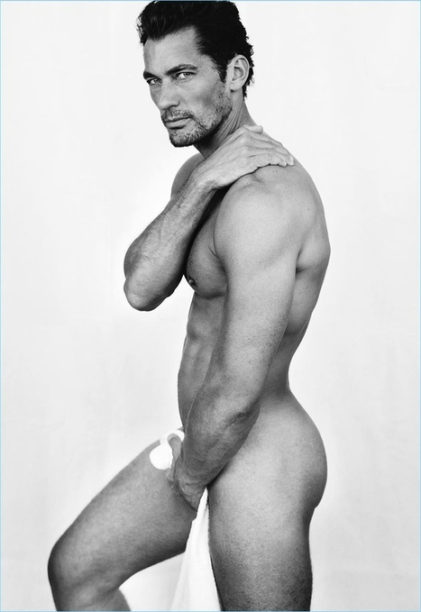 David Gandy Goes Nude for Mario Testino's Towel Series | FlexingLads | Scoop.it