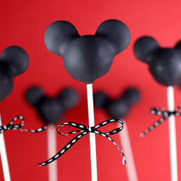 Mickey Mouse Silhouette Cake Pops | Food | Disney Baking Recipes | Scoop.it