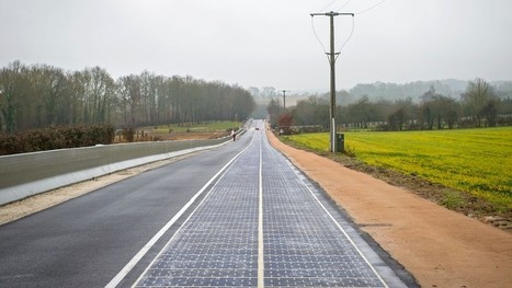 French village becomes home to the world's first solar panel road | Transformations in Business & Tourism | Scoop.it