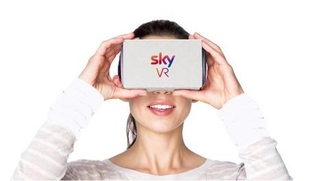 Con Sky VR la televisione si guarda in realtà virtuale via app   Society in pictures   Scoop.it