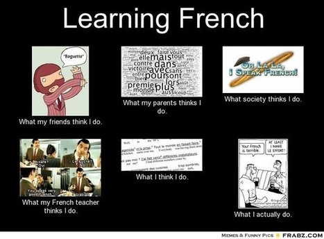 Learning French | What I really do | Scoop.it