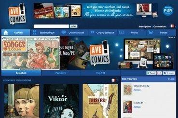 La BD à l'heure du numérique | Myriam Chaplain-Riou | BD et livres jeunesse | le monde de la BD | Scoop.it