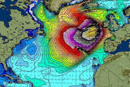 Winter Storm Hercules Forecast Larger Than Perfect Storm - Surf Channel | Nuevas Geografías | Scoop.it