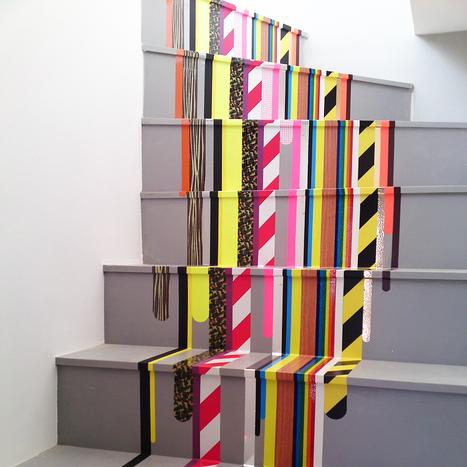 Les escaliers décorés, une tendance déco très prisée | Les tendances déco-design de Moodds | Scoop.it
