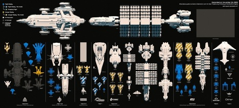 Tutte le astronavi di Star Citizen in un'unica infografica! | WEBOLUTION! | Scoop.it