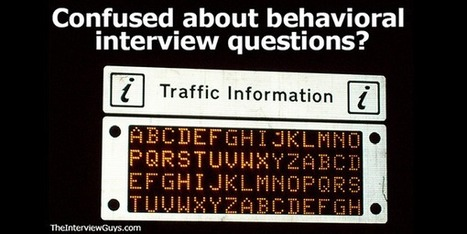 Behavioral Interview Questions And Answers 101   Job Interviews 101   Scoop.it