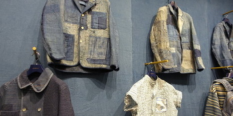 Le denim japonais dévoile ses techniques de broderies ancestrales à Paris | Ca m'interpelle... | Scoop.it