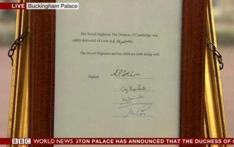 EN DIRECT. Grande-Bretagne : Kate Middleton a donné naissance à un garçon | digistrat | Scoop.it