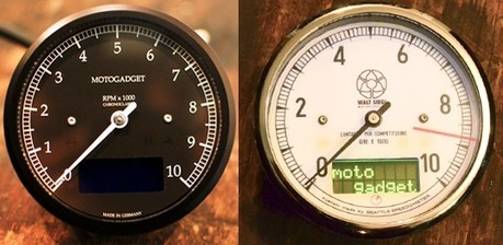 CUSTOM CHROME STREET FIGHTER TACHO /& SPEEDO CLOCKS ATV QUAD TRIKE SPEEDOMETER
