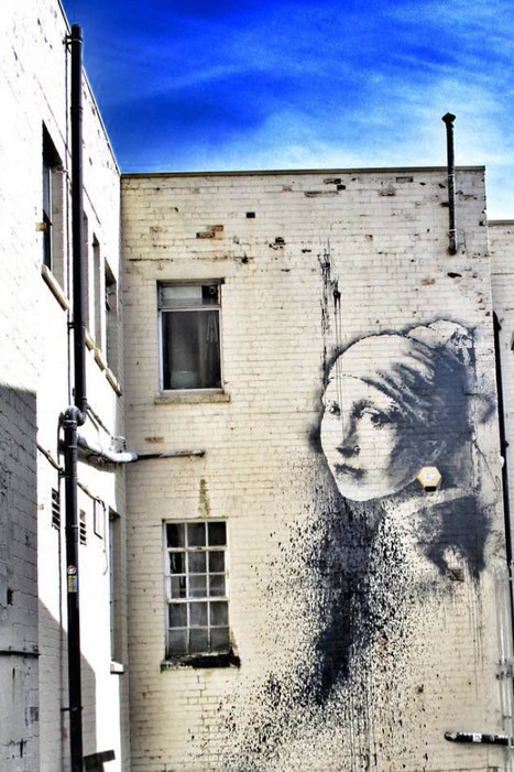 New Banksy mural appears at school in Bristol |via NME.COM | Personal Branding Using Scoopit | Scoop.it