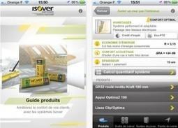 Isover lance son application smartphone | Stratégie de contenu | Scoop.it