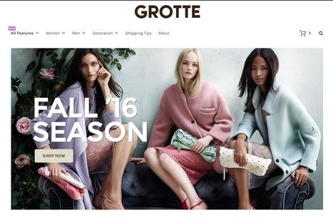 Grotte : un théme Woocommerce gratuit - Infos du Web & Bons Plans | Bons plans | Scoop.it
