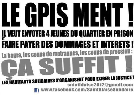 Saint-Blaise   Le GPIS Ment   Luttes de logemen... 5f3eca327f1