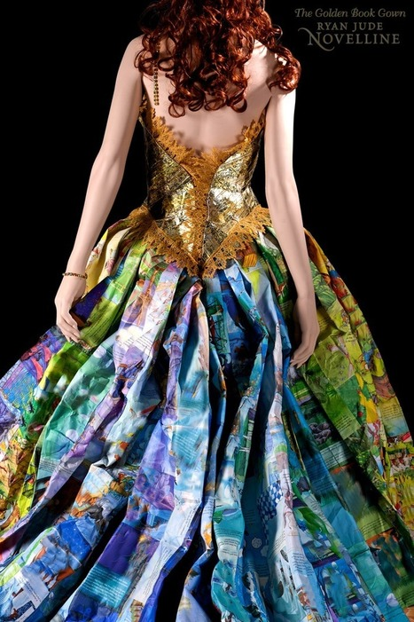 zolabooks: Storybook gown constructed entirely... | Young Adult and Children's Stories | Scoop.it