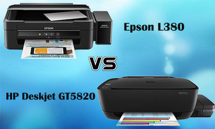 Comparison: Epson L380 VS HP DeskJet GT 5820 |