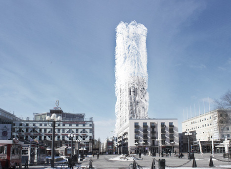 Energy-producing shell covered with hairs that can extract wind energy | Digital Fabrication in Architecture, Engineering and Construction | Scoop.it