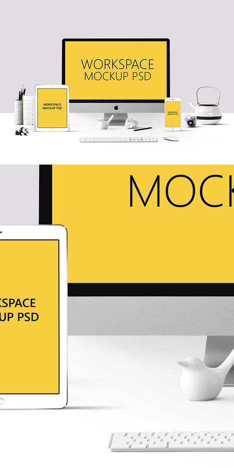 New Free Mockup PSD Product Templates   El Mundo del Diseño Gráfico   Scoop.it