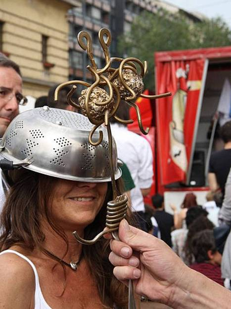 Pastafarians rejoice as Church of the Flying Spaghetti Monster is granted permission to register as a religion in Poland | Human Geography | Scoop.it