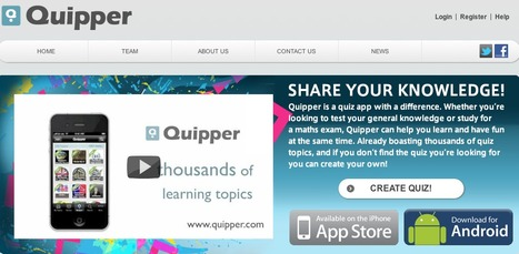 Quipper - Share your knowledge | KgTechnology | Scoop.it