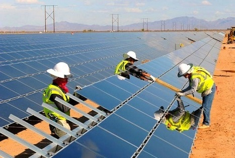 First Solar Takes on More Serious Desertec Role | Green Prophet | Green Eco energy cyprus | Scoop.it