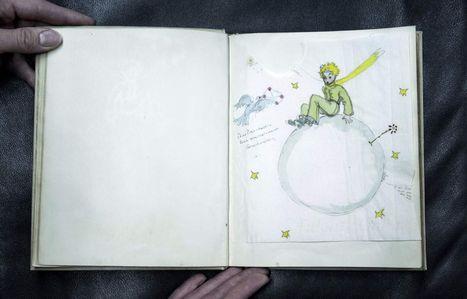 Un exemplaire original du Petit Prince vendu 89.467 euros aux enchères | Patrimoine culturel - Revue du web | Scoop.it