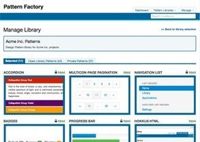 Build a front-end resource for your team | Patternry | Web mobile - UI Design - Html5-CSS3 | Scoop.it