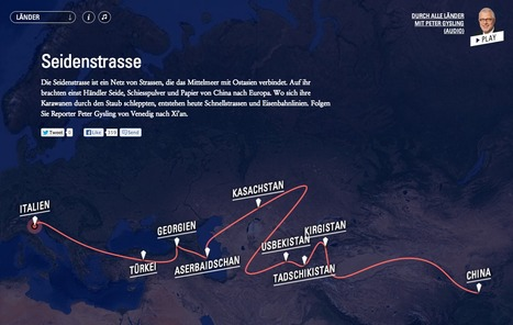 SRF Seidenstrasse Webdok | Interactive & Immersive Journalism | Scoop.it